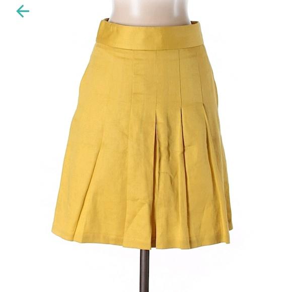 8fe78cc394 Banana Republic Skirts | Yellow Skirt | Poshmark
